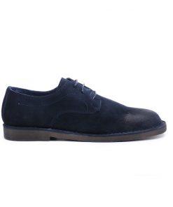 Сини мъжки обувки от естествен велур DANIELLI/2005