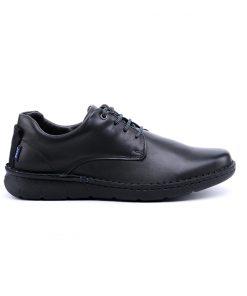 Мъжки черни обувки от естествена кожа-728