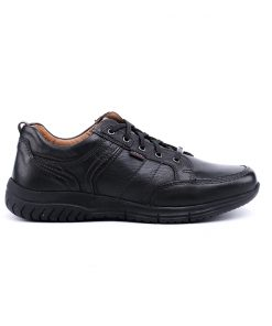 Ежедневни мъжки обувки от мека лицева кожа-374
