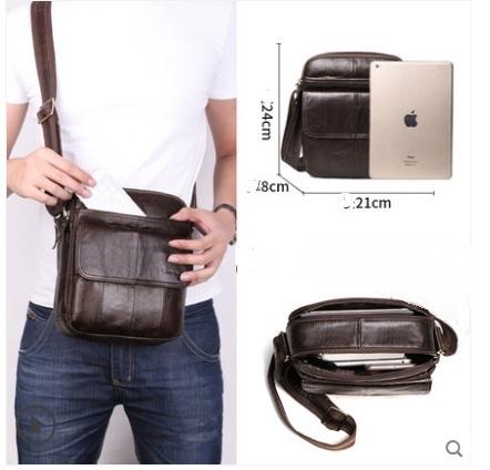 Мъжка чанта в кафяво 0712048/1-brown