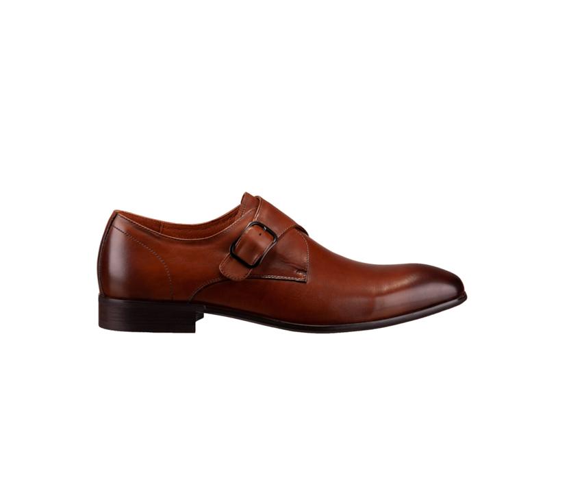 Мъжки обувки с опушен ефект DANIELLI 8088 brown