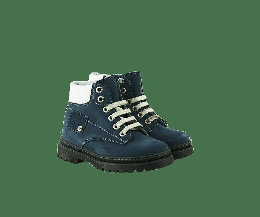 Сини детски боти от набук (размер 27-30)