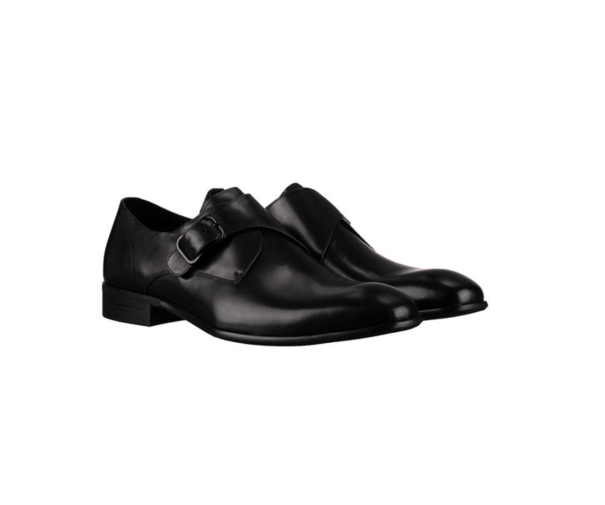 Елегантни мъжки обувки DANIELLI 19 A-black