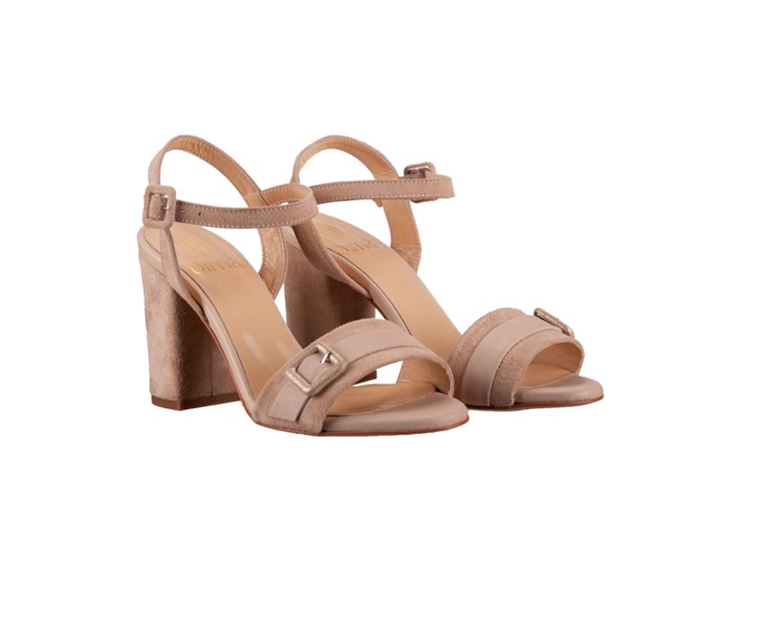 Дамски сандали от естествен велур DIMA18238